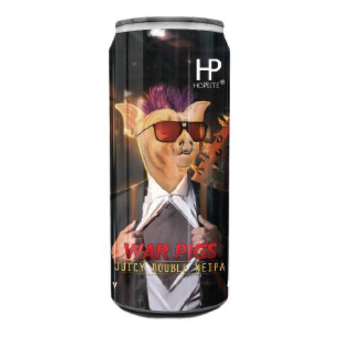 Cerveja Spartacus War Pigs Hoplite Double NEIPA Lata - 473ml