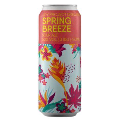 Cerveja Joy Project Spring Breeze Sour Ale C/ Goiaba e Maracujá Lata - 473ml