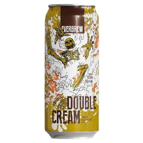 Cerveja EverBrew Double Cream Double Juicy IPA Lata - 473ml
