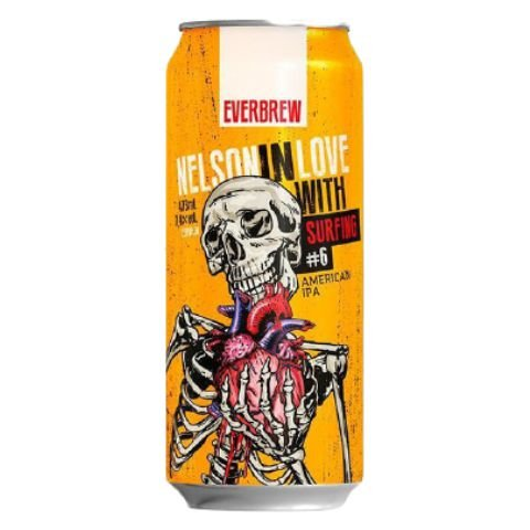 Cerveja EverBrew Nelson In Love Surfing American IPA Lata - 473ml
