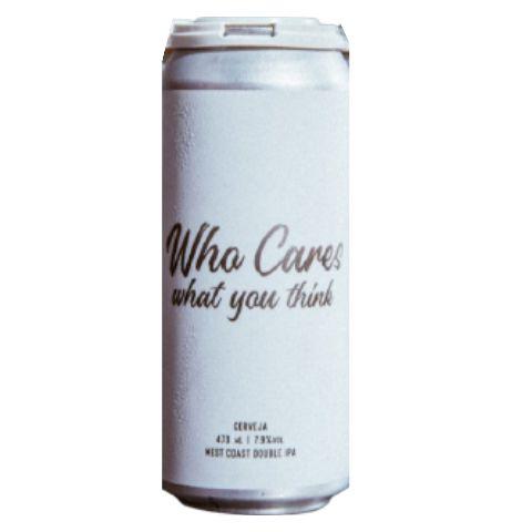 Cerveja Koala San Brew Who Cares What You Think West Coast Double IPA Lata - 473ml