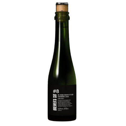 Cerveja Dádiva Brewer's Cut #8 Barrel Aged Mixed Fermentation Cranberry Sour - 375ml