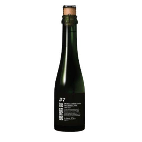 Cerveja Dádiva Brewer's Cut #7 Barrel Aged Mixed Fermentation Strawberry Sour - 375ml