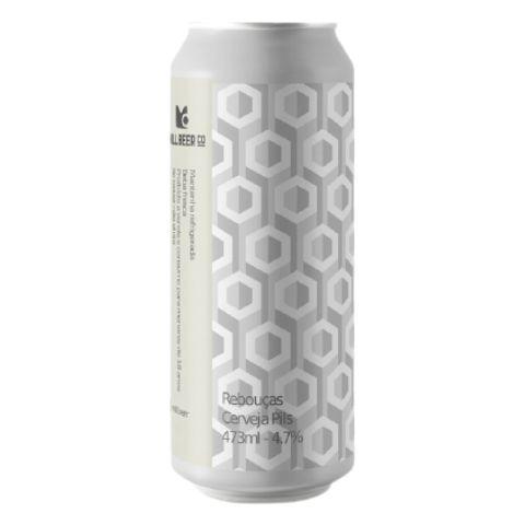 Cerveja Mill Beer Co Rebouças German Pils Lata - 473ml