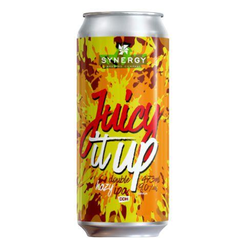 Cerveja Synergy Juicy It Up Double Hazy IPA Lata - 473ml