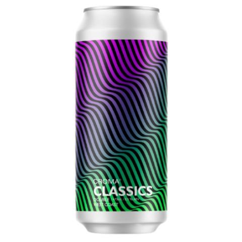 Cerveja Croma Classics Double West Coast IPA Lata - 473ml
