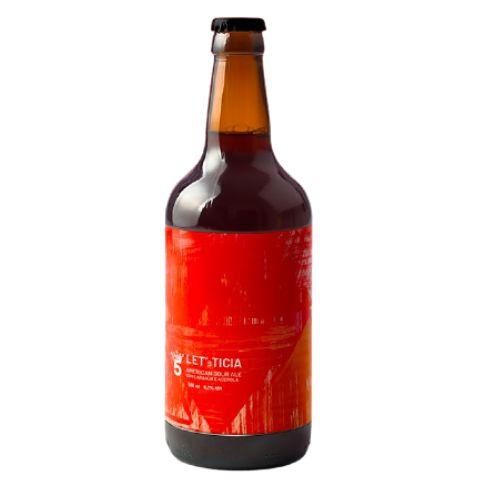 Cerveja 5 Elementos Let's Ticia American Sour Ale C/ Laranja e Acerola - 500ml