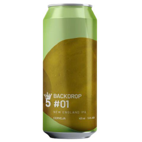 Cerveja 5 Elementos Backdrop #01 New England IPA Lata - 473ml