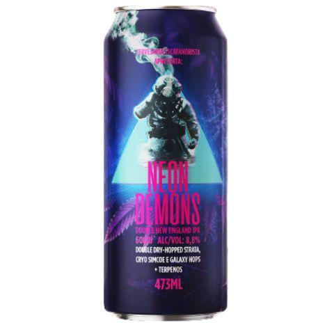 Cerveja Escafandrista Neon Demons Double New England IPA C/ Terpenos Lata - 473ml