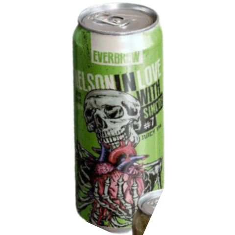 Cerveja EverBrew Nelson In Love Simcoe Juicy IPA Lata - 473ml