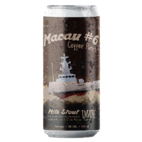 Cerveja Salvador Brewing Co Macau #6 Coffee Punch Milk Stout C/ Café Lata - 473ml