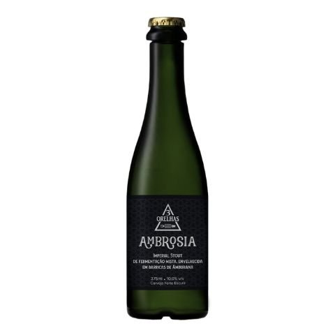 Cerveja 3 Orelhas Ambrosia Imperial Stout Amburana Barrel Aged - 375ml