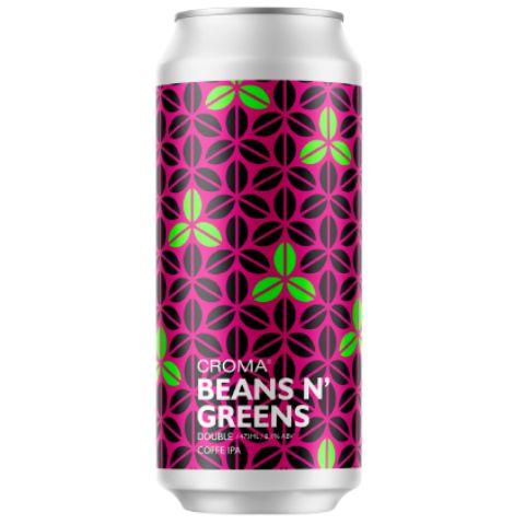 Cerveja Croma Beans N' Greens Double Coffee IPA Lata - 473ml