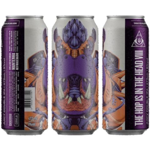 Cerveja Dogma The Hop Is In The Head VIII Juicy Double IPA Lata - 473ml
