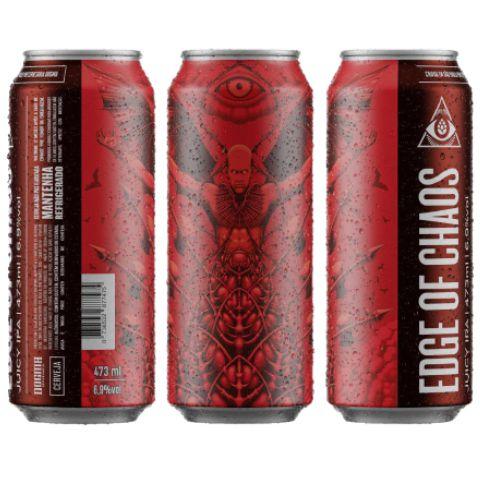Cerveja Dogma Edge Of Chaos Juicy IPA C/ Lactose Lata - 473ml