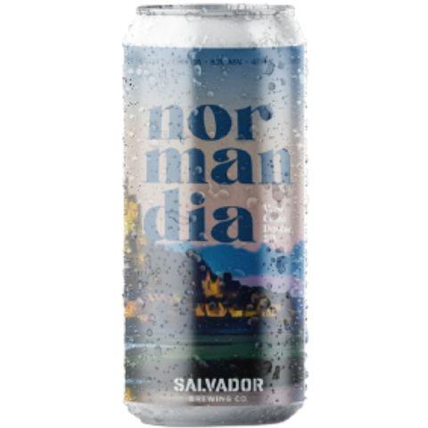 Cerveja Salvador Brewing Co Normandia West Coast Double IPA Lata - 473ml