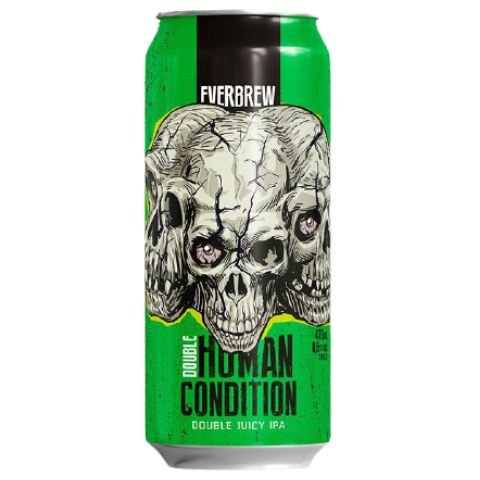 Cerveja EverBrew Double Human Condition Double Juicy IPA Lata - 473ml