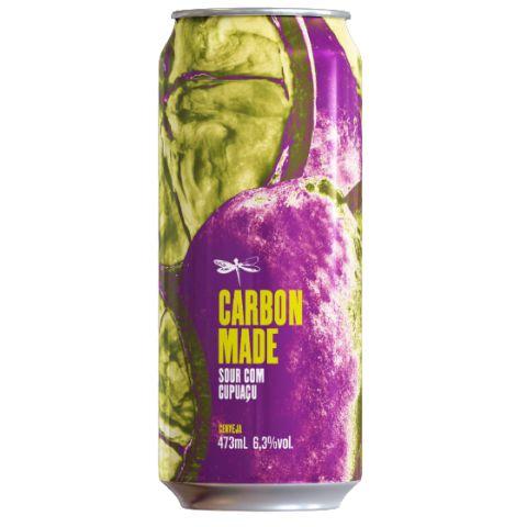 Cerveja Dádiva Carbon Made Sour C/ Cupuaçu Lata - 473ml
