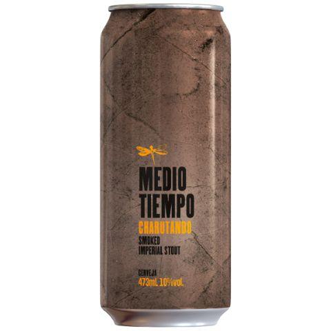 Cerveja Dádiva Medio Tiempo Charutando Smoked Imperial Stout Lata - 473ml