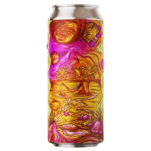 Cerveja Fermi Efeito Zenith DDH Juicy IPA C/ Goiaba Lata - 473ml