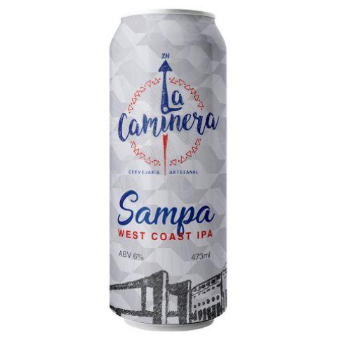 Cerveja La Caminera Sampa West Coast IPA Lata - 473ml