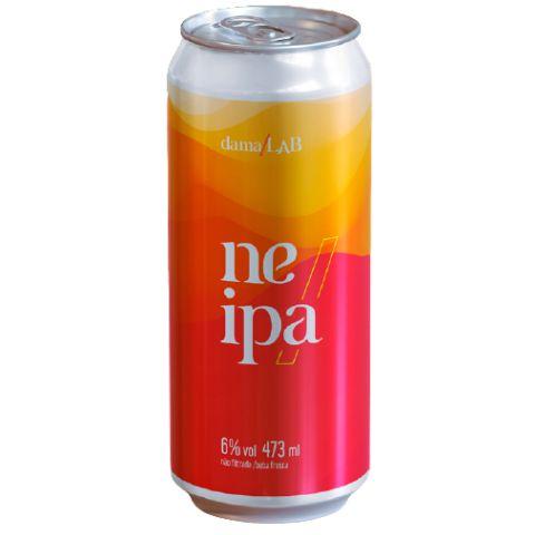 Cerveja Dama Bier Dama Lab #8 NEIPA Cashmere, Citra e El Dorado Lata - 473ml