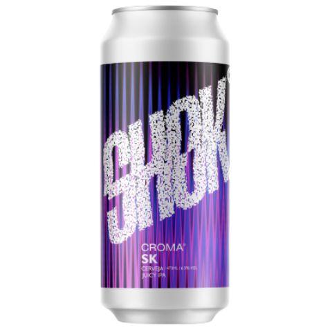 Cerveja Croma SK Juicy IPA Lata - 473ml