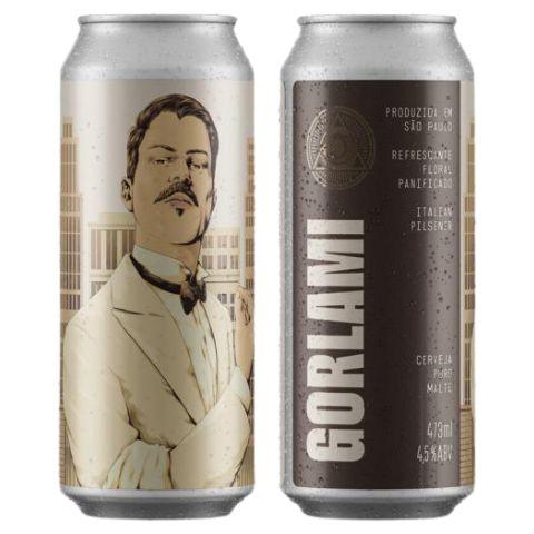 Cerveja Dogma Gorlami Italian Pilsner Lata - 473ml