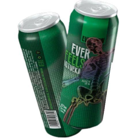 Cerveja EverBrew EverFeels Motueka Juicy IPA Lata - 473ml