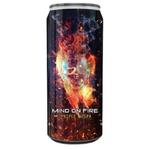 Cerveja Spartacus Mind On Fire Triple NEIPA Lata - 473ml