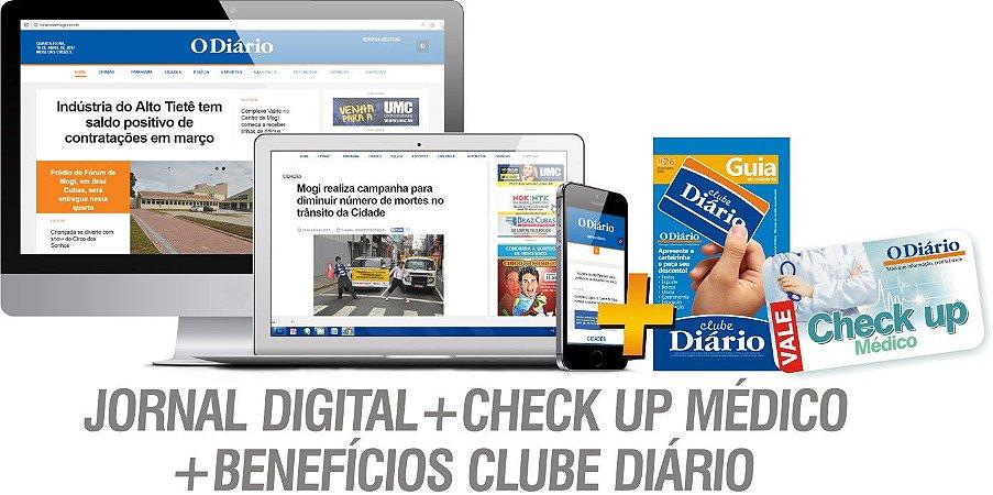 JORNAL DIGITAL + CHECK UP MÉDICO + BENEFÍCIOS DO CLUBE DIÁRIO