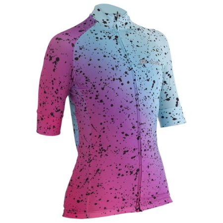Camisa Ciclismo RH-38 Rosa/Azul