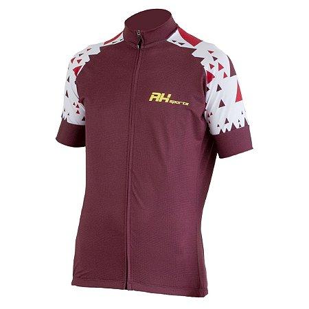 Camisa Ciclismo RH-33 Vinho