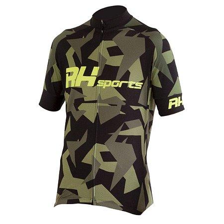 Camisa Ciclismo RH-20 Preto