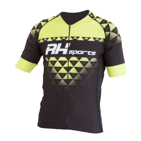 Camisa Ciclismo Elite RH-19 Preto