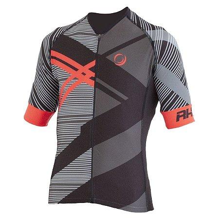 Camisa Ciclismo Elite RH-29 Preto