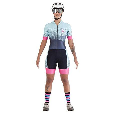 Macaquinho Ciclismo RH-34 Azul