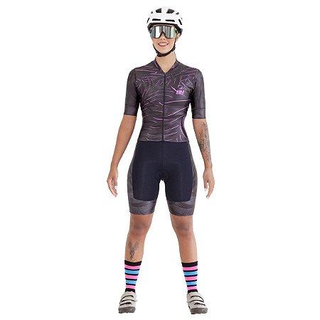 Macaquinho Ciclismo RH-35 Preto