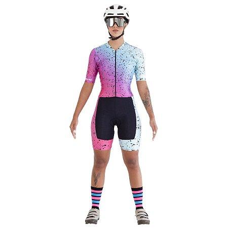 Macaquinho Ciclismo RH-38 Preto
