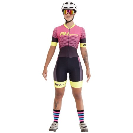 Macaquinho Ciclismo RH-25 Amarelo