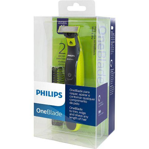 Oneblade com 2 Pentes QP2521 - Philips