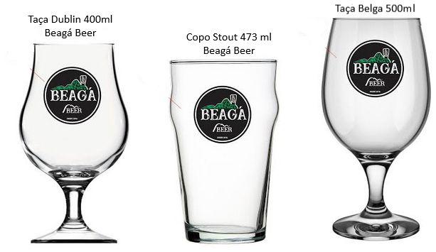 Copos e Taças Cerveja Artesanais - Beaga Beer