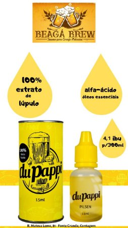 EXTRATO DE LUPULO LÍQUIDO DUPAPPI