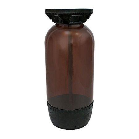 Barril Plástico Modelo Smart 20l Marrom Tipo S - PolyKeg®