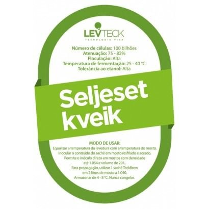 Fermento Levteck- Teckbrew Seljeset KVEIK