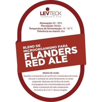 Fermento Levteck - Teckbrew - Blend Red Flanders Ale