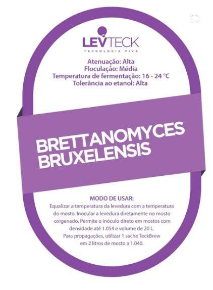Fermento Levteck - TekBrew - Brettanomyces Bruxelensis