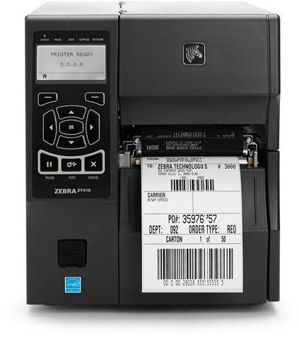 Impressora Térmica de Etiqueta Zebra ZT410 203 DPI