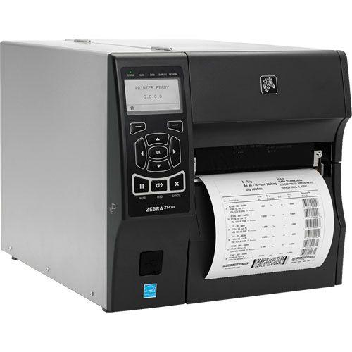 Impressora Térmica de Etiqueta Zebra ZT 420
