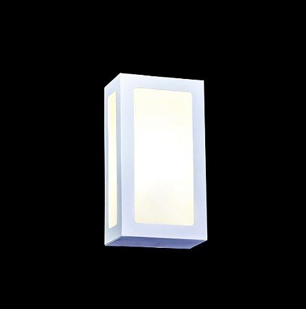 EL 02 Arandela 3 vidros - Alumínio